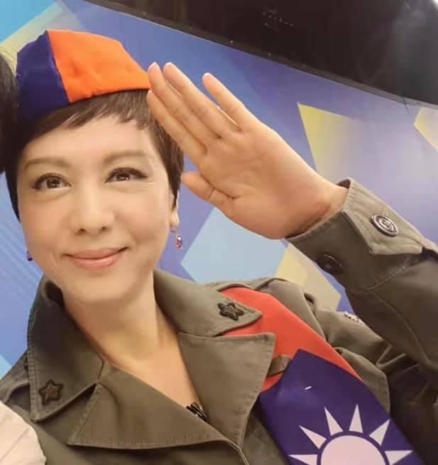 熊海靈投書社論 ,「攘外必先安内,國民黨出手吧!」(摘自熊海靈臉書)