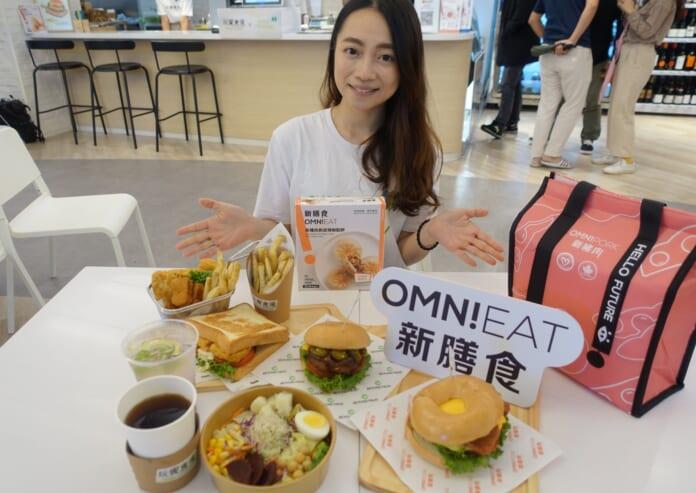 Green Monday攜手「玩饗食庫」開設首間綠色蔬食複合式餐飲店,推出多款創新蔬食餐飲。(黃采薇攝)